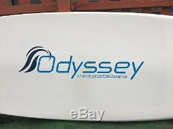 Stand Up Paddle Board 11 Odyssey brand used with paddle and cover