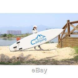 Stand Up Paddle Board 12' Portable Inflatable SUP Backage Surf Fishing Race