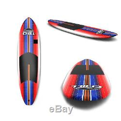 Stand Up Paddle Board Package 3 Fins Traction Pad Camera Mount Surf Leash 8