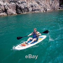 Stand up Paddle Board and Kayak all in 1 Bestway HydroWave 10'4 White Cap