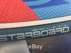 Starboard Wide Point 8'2 X 32 Starlite Surf Stand Up Paddle Board Sup S. U. P