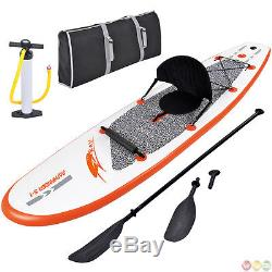 Stingray 10 Foot Stand-Up Multi Layer SUP Paddleboard with Paddle, Pump, Bag