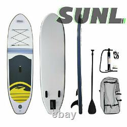 SunL Inflatable Stand Up Paddleboard SUP Paddle Board withStorage Case Pump