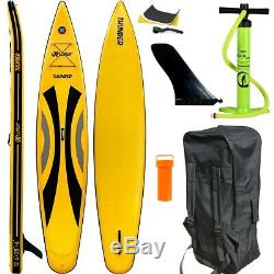 Sup Explorer 2020 Thunder 12.6 Race Stand Up Paddle Board Inflatable Pumpe Isup