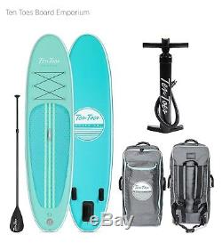 Ten Toes WEEKENDER 10' Inflatable Stand Up Paddleboard (SUP)