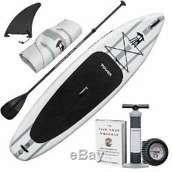 Tower Inflatable 104 Stand Up Paddle Board (6 Inches Thick) Universal SUP