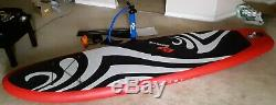 USED ONCE 11' Inflatable Stand Up Paddleboard, Bag, Paddle & Leash by GoPlus