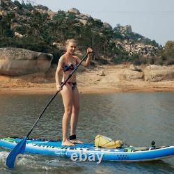 Used Inflatable Stand Up Paddle Board SUP Surfboard with complete kit 6'' thick