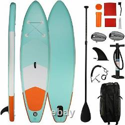 VILOBOS 10' Inflatable Stand Up Paddle Board SUP Surfboard 6 Thick Water Sports