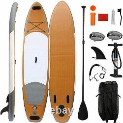 VILOBOS 11FT Inflatable Stand Up Paddle Board SUP Surf Board 6 thick + Backpack