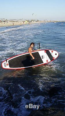 WHAT SUP Stand Up Paddleboard 10' 0 INFLATABLE Bag Leash Fin Pump Quality