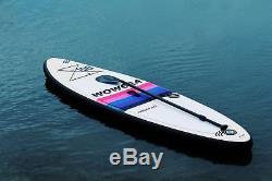 WOWSEA 10ft Surf Board Inflatable Stand Up Paddle Board SUP Full Kit 10'X32X6