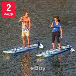 Wavestorm 9' 6 Stand Up Paddle Board Bundle 2-pack