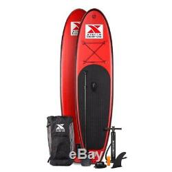 Xterra Inflatable 10' Stand Up Paddle Board Premium SUP Bundle Includes Board