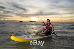 Z-Ray 11'6 Touring Stand Up Paddle Board Pump Paddle Backpack GREAT DEAL
