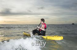 Z-Ray 12'6 Racing SUP Stand Up Paddle Board Pump Paddle Backpack