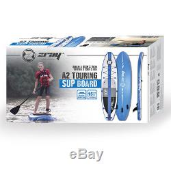 Zray A2 10'6 Inflatable SUP Stand up Paddle Board for Touring Set, 6 Thick